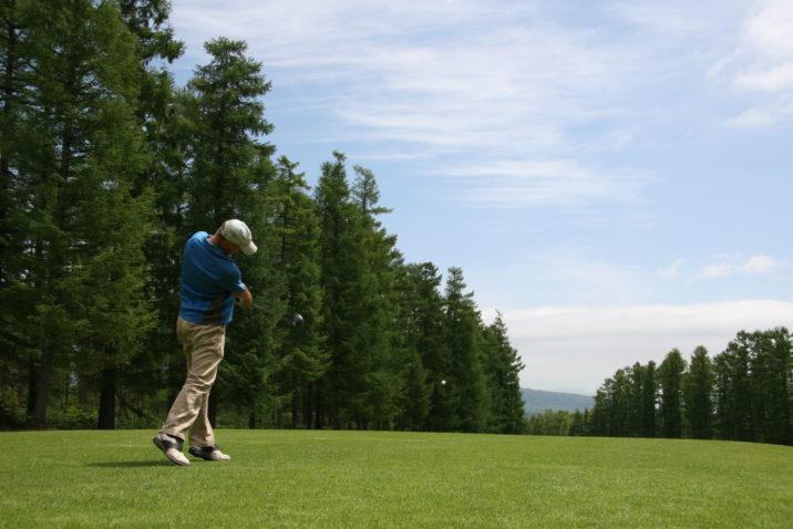 Golfer Ian Mac Kenzie Photo Luke Hurford